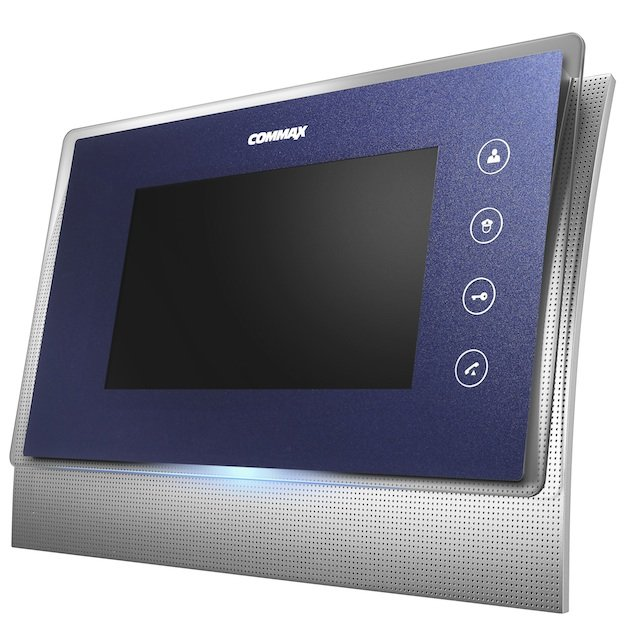 Монитор видеодомофона с памятью Commax CDV-70UM синий