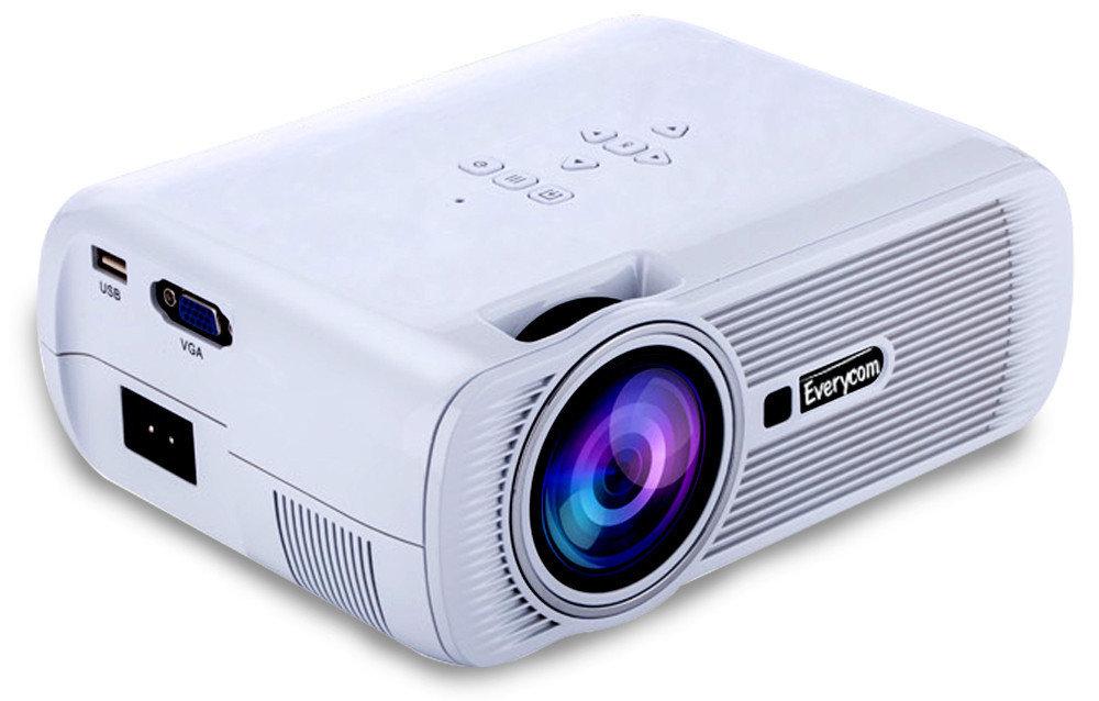 Видеопроектор LED Everycom X7s white