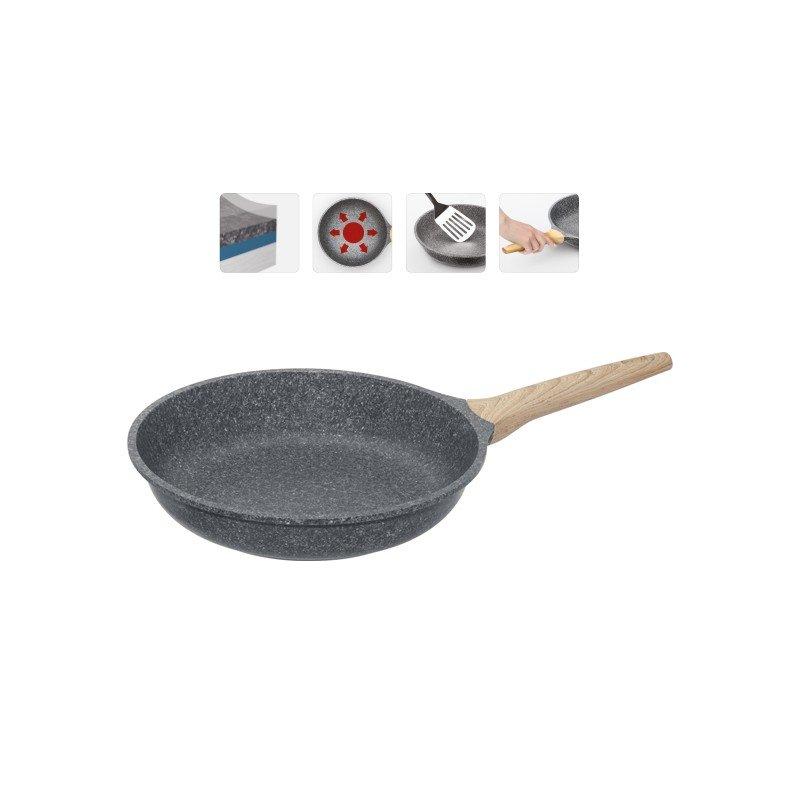 """Сковорода с антипригарным покрытием """"Mineralica"""", 24 см"""