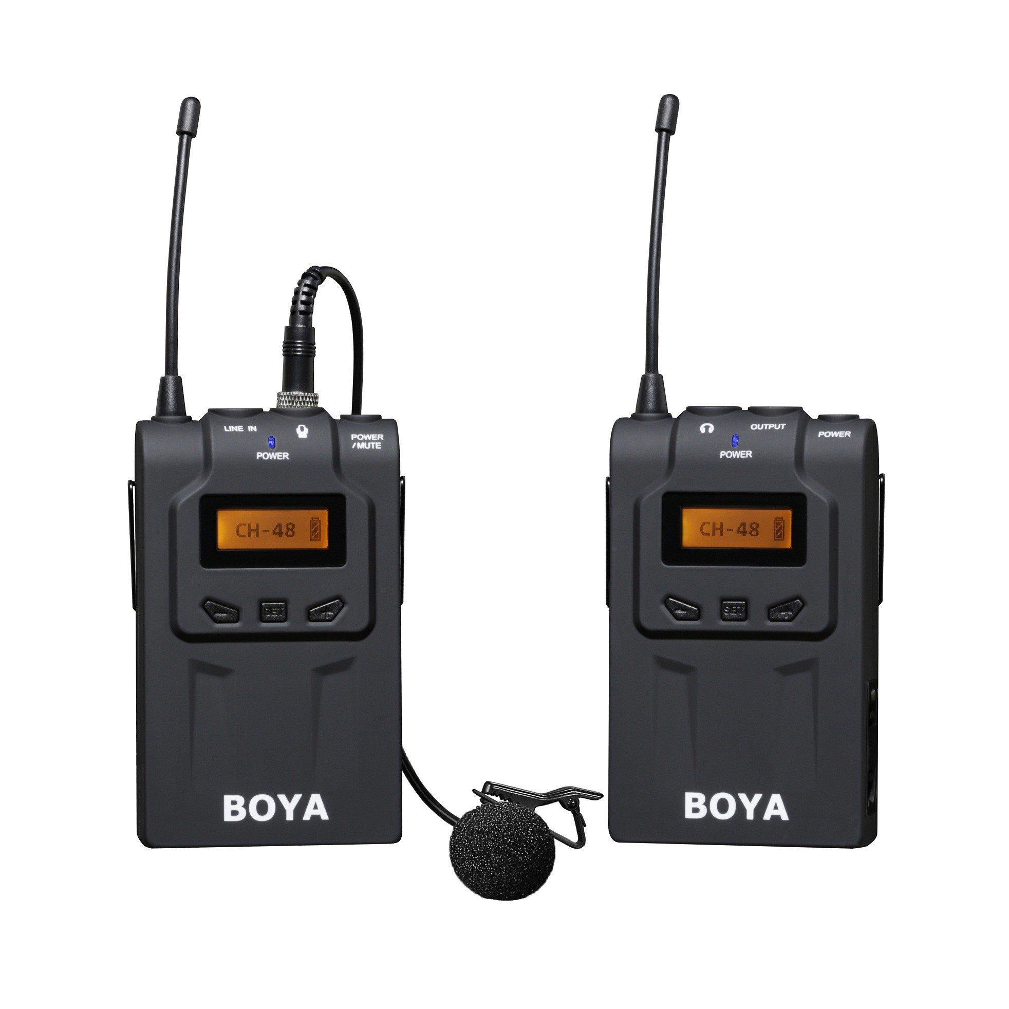 Петличный радио микрофон Boya BY-WM6