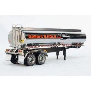 Tamiya полуприцеп - цистерна топливная для тягачей Tamiya 1:14. Артикул: TAM-56333