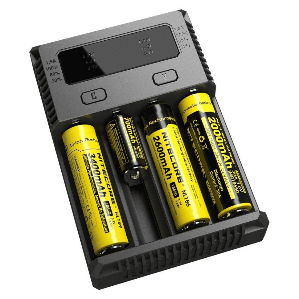 Зарядное устройство Nitecore I4 New (без автоадаптера)