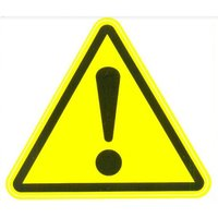 ALFA Универсальная наклейка «Внимание! Опасность!»