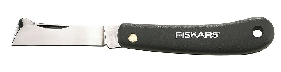 Нож садовый FISKARS 125900 плоский для прививок