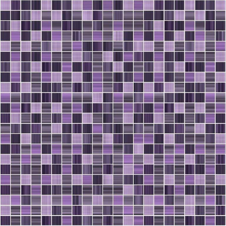 Керамическая плитка Cersanit Motive сиреневая MF4Р222D напольная 32,6х32,6 см