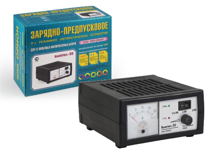 Зарядное устройство Орион Вымпел 30