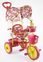 Детский трехколесный велосипед Jaguar (цвет: красный)