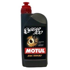 Трансмиссионное масло MOTUL Gear 300 75w-90 для КПП, синтетическое, 1л (100118)
