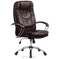 офисное кресло Метта LK-11 Ch эко кожа № 723 Коричневая