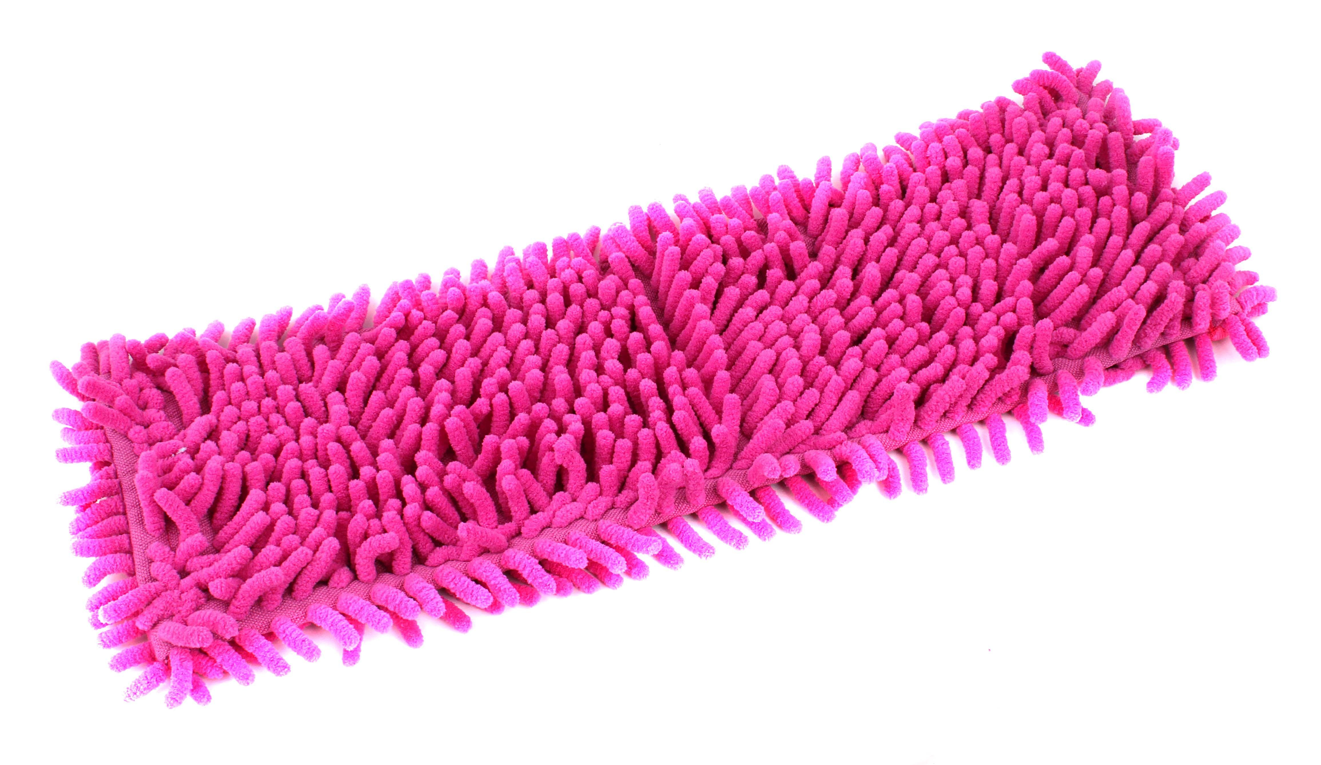 Инвентарь для уборки Рыжий кот mopm4-h насадка для швабры из микрофибры лапша (с карманами) 310362
