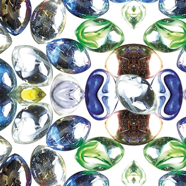 Грунт аквариумный (декоративный стеклянный, разноцветный), фракция 10-15 мм, 0,5 кг