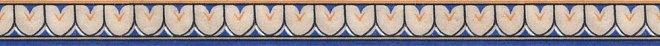 Керамическая плитка Kerama Marazzi Форио Пастораль AD/A230/15067 Бордюр 40х3х8