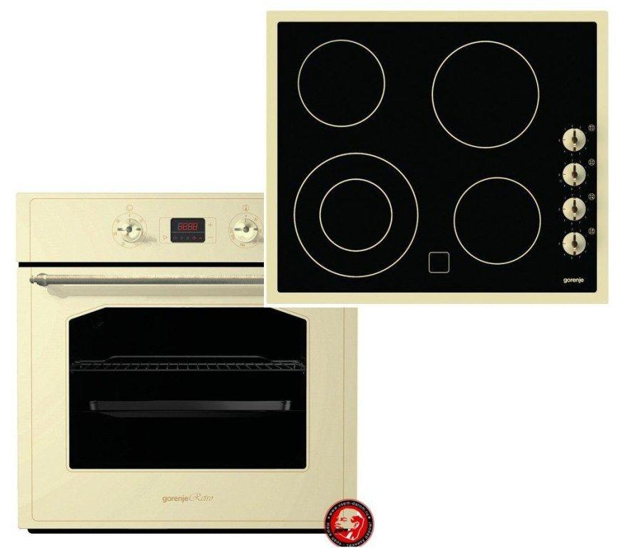 Встраиваемый независимый комплект Gorenje EC 630 RW + BO 5333 RW
