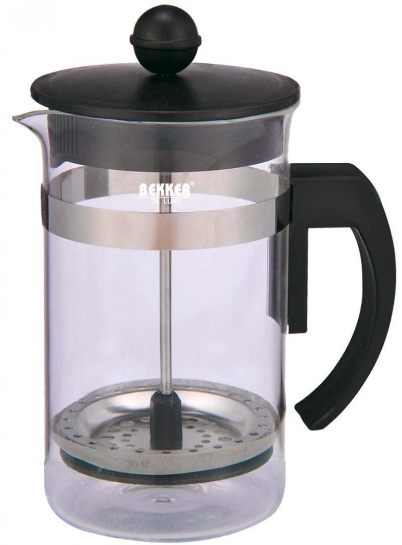 Чайник заварочный Bekker Deluxe BK-389 0.6 л пластик/стекло прозрачный