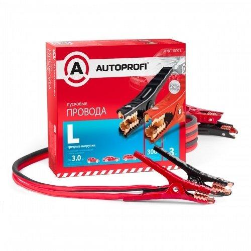 Провода пусковые AUTOPROFI средние нагрузки, 100% ССА, 3м