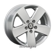 Диск Replica VW18 7.5x17/5x112 D57.1 ET51 Silver - фото 1