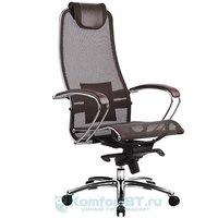 офисное кресло Метта Samurai S-1.02 Темно-коричневый
