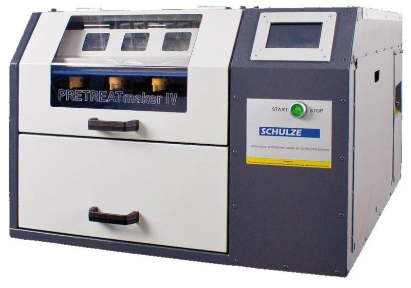 Schulze автоматическая машина для нанесения грунтовки на текстильные изделия PRETREATmaker IV