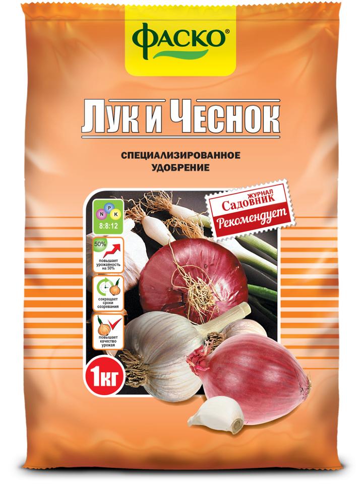 """Удобрение органоминеральное в гранулах """"Лук и Чеснок"""", 0,9 кг"""
