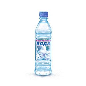 Питьевая вода Королевская вода 0,5л газ