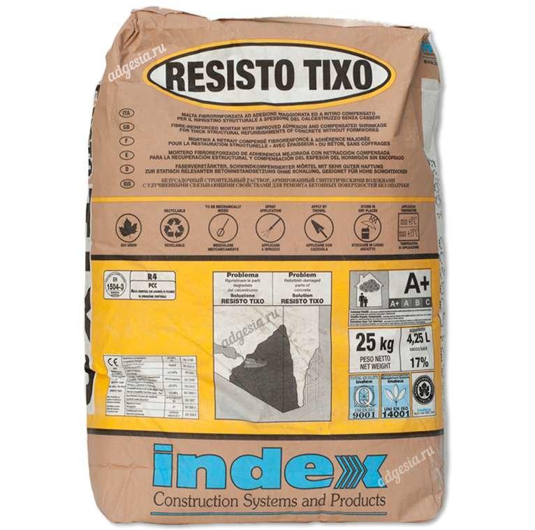 Ремонтный состав Resisto Tixo 25 кг (Index)