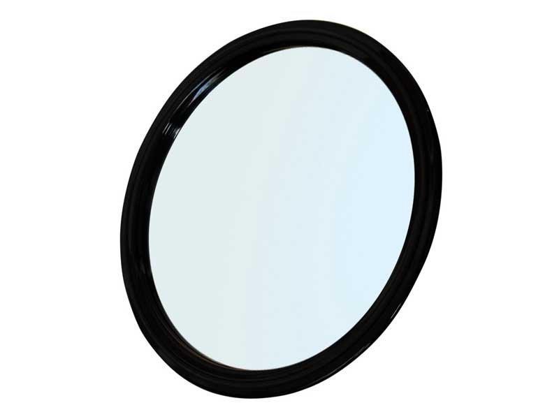 зеркало заднего вида d. 23 см. черное