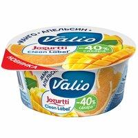 Йогурт Valio с манго и апельсином 2,9 % 120г