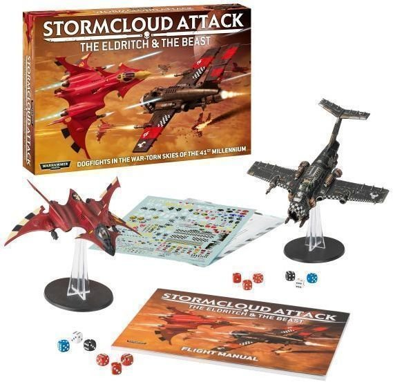 Stormcloud attack: the eldritch & the beast