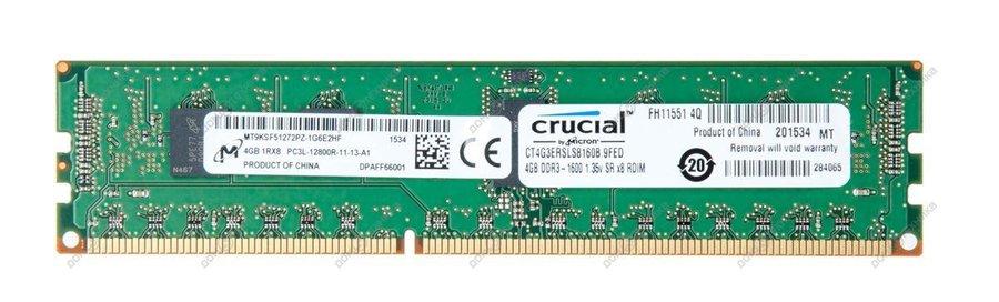 Память Crucial DDR3L 4Gb CT4G3ERSLS8160B