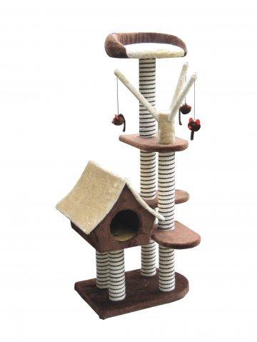 Игровой комплекс для кошек Sagrada с домиком