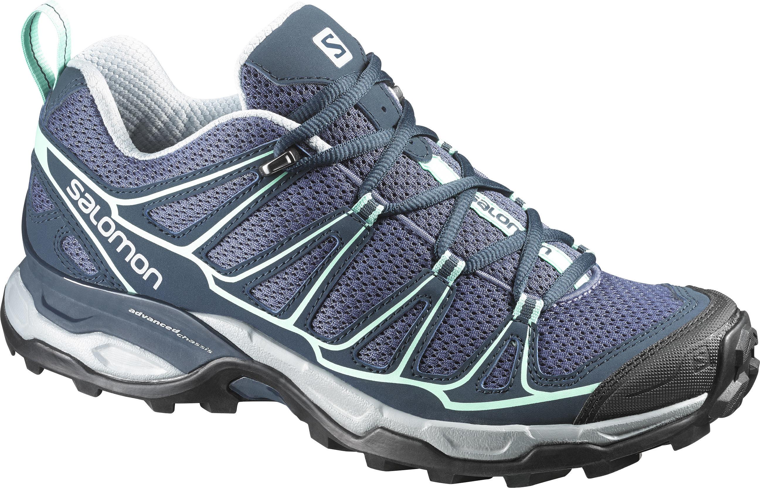 Ботинки Для Хайкинга (Низкие) Salomon 2017 Shoes X Ultra Prime W Artgrey/bl/lucite (Uk:6,5)