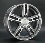 Диски LS Wheels 215 6,5x15 5x139,7 D98.5 ET40 цвет GMF (темно-серый,полировка) - фото 1