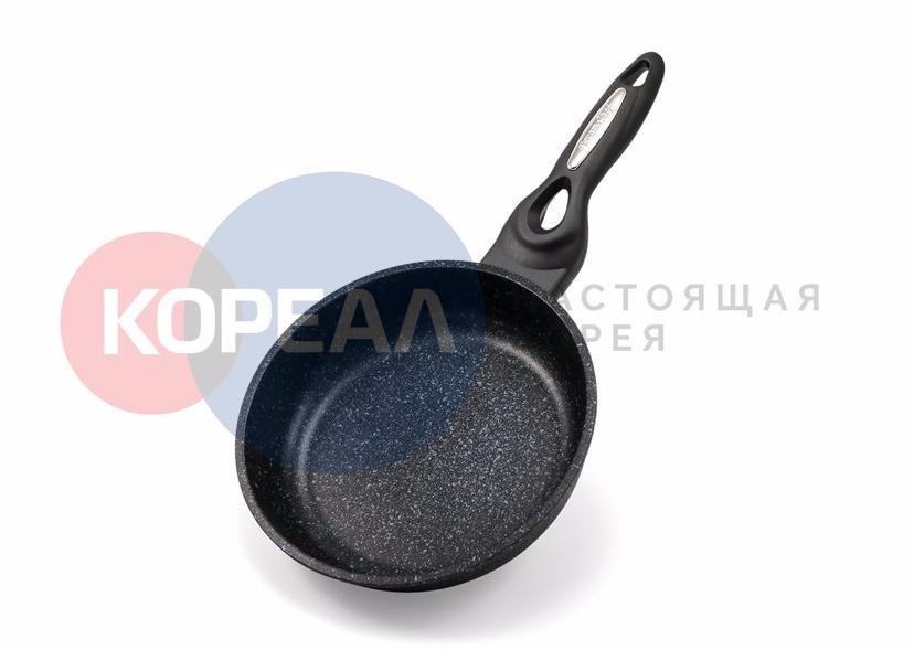Сковорода Ecoramic 20 см стандарт с мраморным антипригарным покрытием без крышки