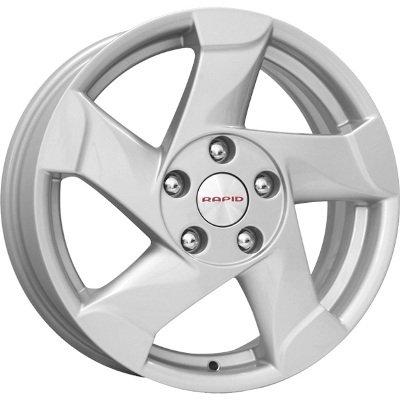 Литой диск КиК КС632 (Duster) 6.5x16 5x114.3 ET50.0 D66.1 сильвер