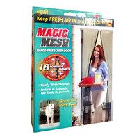 Магнитная шторка - москитная сетка Magic Mesh (Меджик Меш)