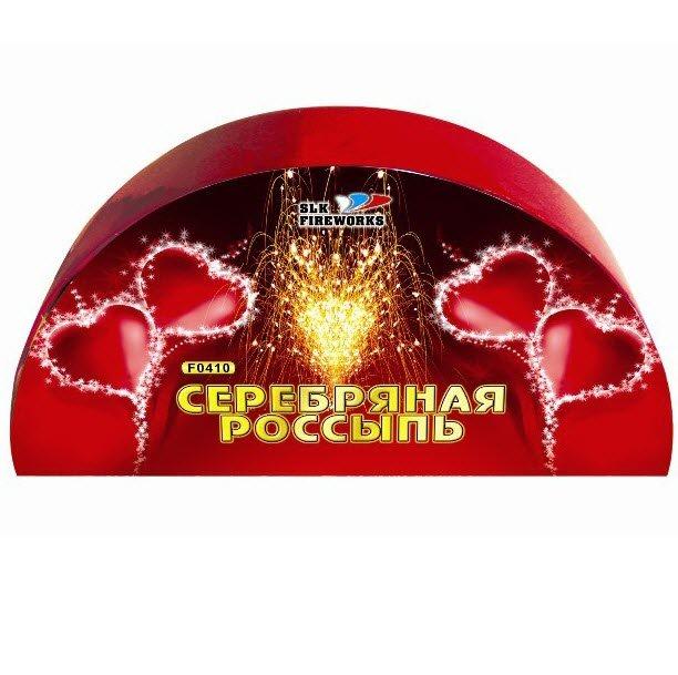 Салюты лучших коллекций Фейерверк, фонтан Серебряная россыпь