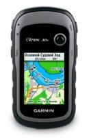 Garmin eTrex 30x Глонасс - GPS с картой Дороги России. РФ. Топо