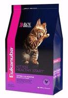 Eukanuba Kitten Healthy Start корм для котят от 1 до 12 месяцев, с курицей, 400 г