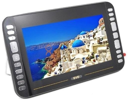 Портативный DVD-плеер Eplutus LS-105T 10 дюймов (DVB-T2/USB/SD)