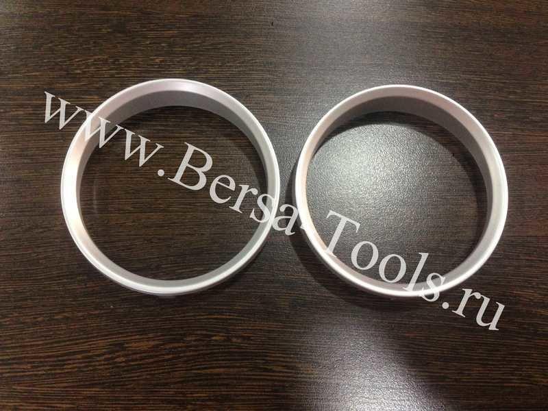 Кольца в приборную панель BMW е90 (хром, серебро) Хром