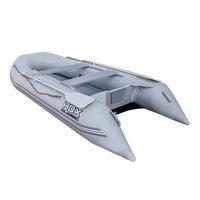 Лодка ПВХ HDX Classic 370 с пайолом, цвет серый