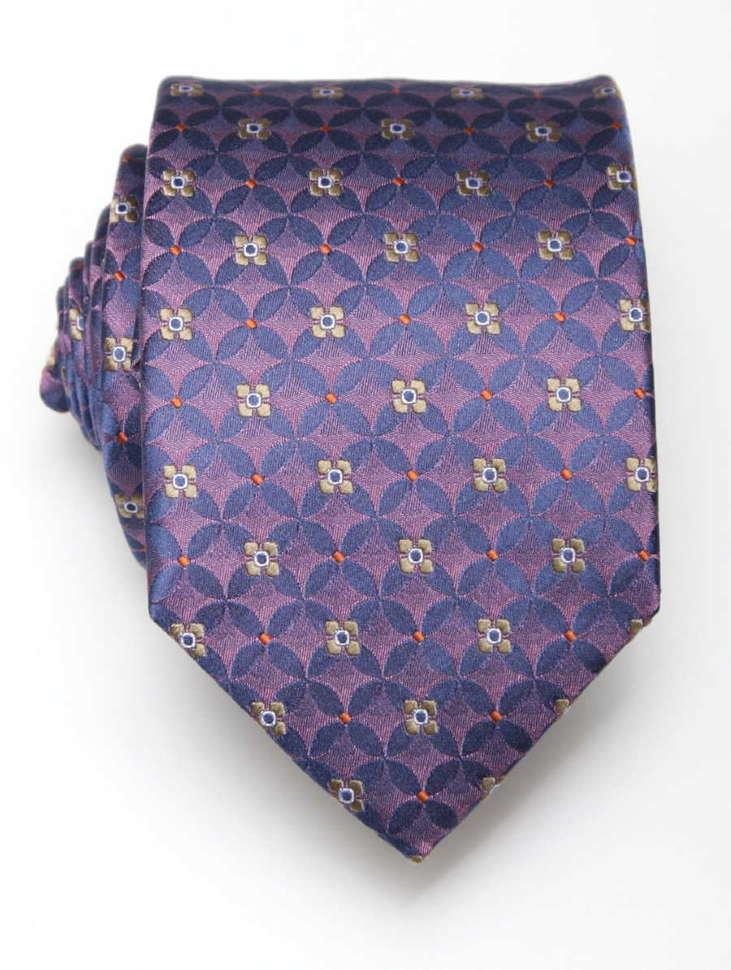 Мужской фиолетовый галстук слегка переливается ClubSeta 7983