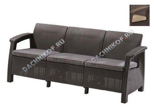 Садовый диван Keter CORFU LOVE SEAT MAX