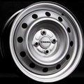Диски Trebl 8114 6x15 4x100 ET48 ЦО54.1 цвет Silver - фото 1