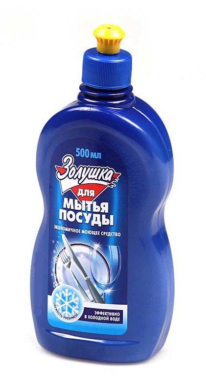 Средство для мытья посуды 500мл Свежесть Золушка (18)