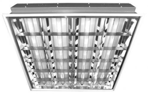 Энергосберегающий (люминесцентный) светильник Армстронг Центрстройсвет G13 4x18W (Вт) 595x595x80 IP20 220V ЦБ000000728