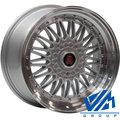 Диски AXE RS 9x18 5/114.3 ET40 d73.1 Silver Mirror Lip - фото 1