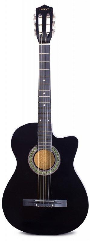 Denn DCG395 классическая гитара с анкером, цвет черный