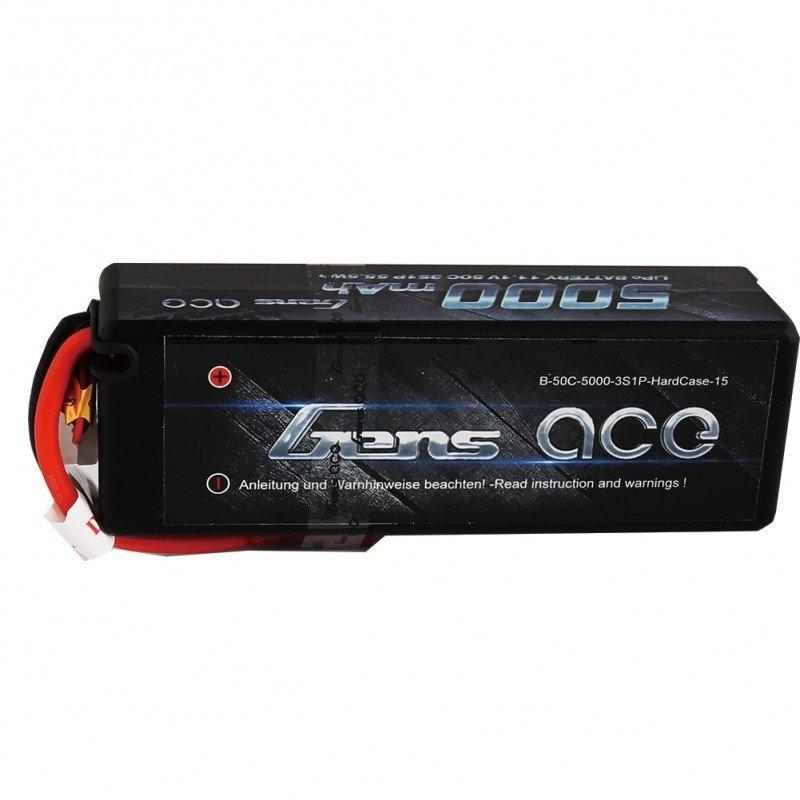 Аккумулятор GensAce LiPo 11.1V 3S 50C 5000mAh Hobby (XT60) - GA-B-50C-5000-3S1P-H