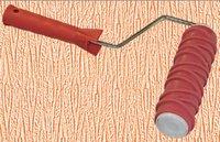 """Валик декоративный структурный с ручкой, рисунок """"Кора"""" Pqtools"""